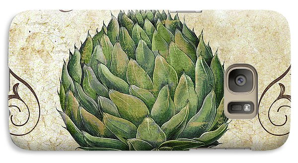 Mangia Artichoke Galaxy Case by Mindy Sommers