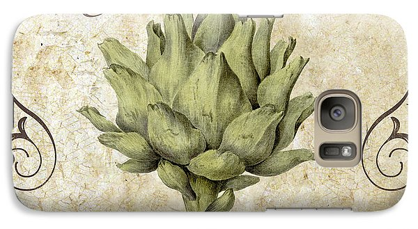 Mangia Carciofo Artichoke Galaxy Case by Mindy Sommers
