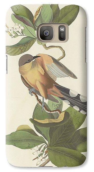 Mangrove Cuckoo Galaxy S7 Case by John James Audubon