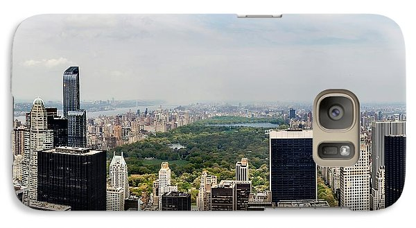 Manhattan Haze Galaxy S7 Case by Az Jackson