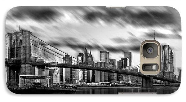 Manhattan Moods Galaxy S7 Case by Az Jackson
