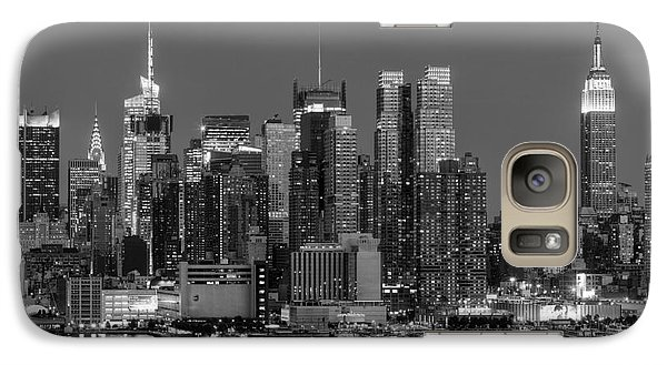 Manhattan Twilight Iv Galaxy S7 Case by Clarence Holmes