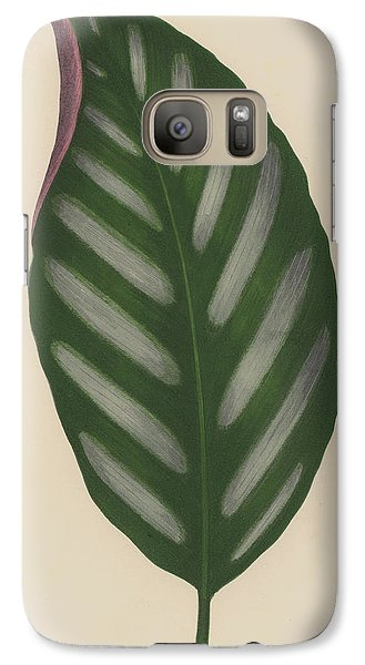 Maranta Porteana Galaxy S7 Case by English School