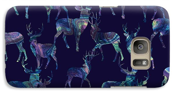 Marble Deer Galaxy S7 Case by Varpu Kronholm