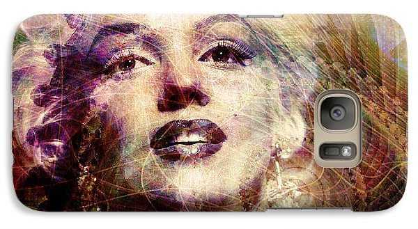 Marilyn Galaxy S7 Case by Barbara Berney