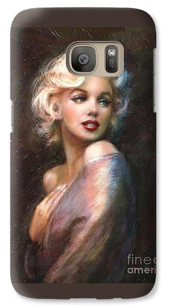 Marilyn Romantic Ww 1 Galaxy Case by Theo Danella