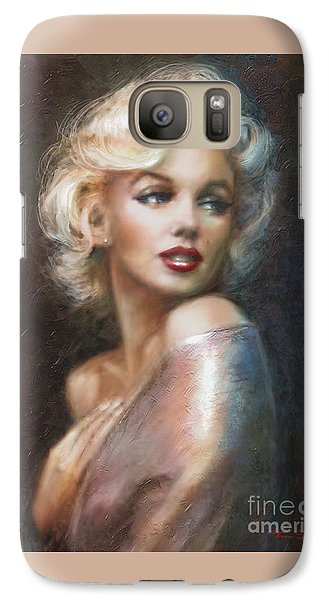 Marilyn Ww Soft Galaxy S7 Case by Theo Danella