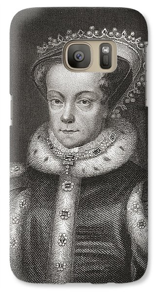Mary I, 1516 Galaxy S7 Case by Vintage Design Pics