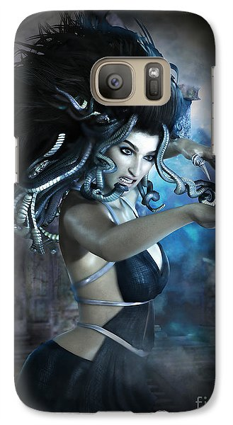 Medusa Galaxy S7 Case by Shanina Conway
