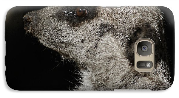 Meerkat Profile Galaxy S7 Case by Ernie Echols