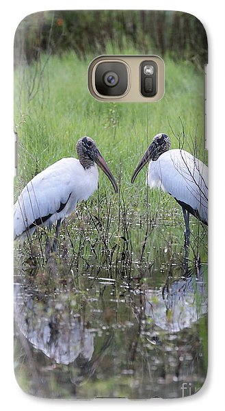 Meeting Of The Minds Galaxy S7 Case by Carol Groenen