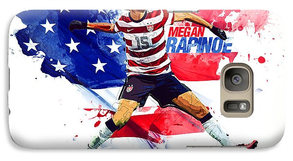 Megan Rapinoe Galaxy Case by Semih Yurdabak