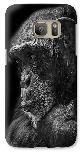 Melancholy Galaxy S7 Case by Paul Neville