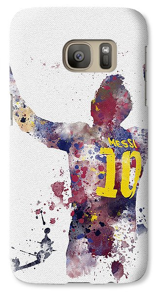 Messi Galaxy Case by Rebecca Jenkins