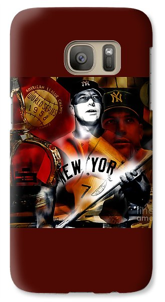 Mickey Mantle Collection Galaxy Case by Marvin Blaine