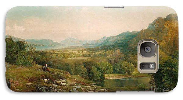 Minding The Flock Galaxy S7 Case by Thomas Moran