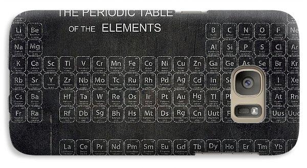 Minimalist Periodic Table Galaxy Case by Daniel Hagerman