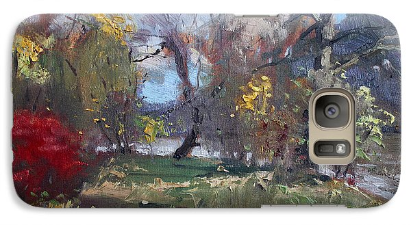 Mixed Weather In A Fall Afternoon Galaxy Case by Ylli Haruni
