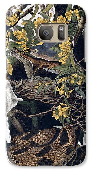 Mocking Birds And Rattlesnake Galaxy Case by John James Audubon