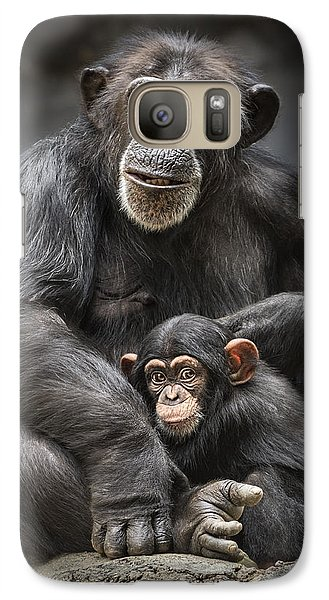 Mom And Baby Galaxy Case by Jamie Pham