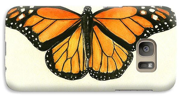 Monarch Butterfly Galaxy S7 Case by Juan Bosco