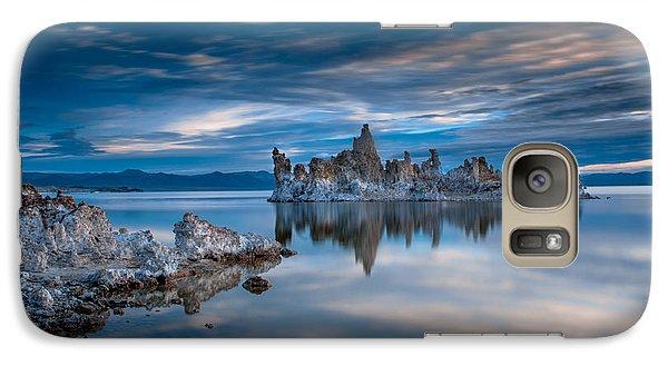 Mono Lake Tufas Galaxy Case by Ralph Vazquez