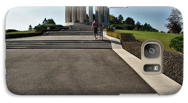 Galaxy Case featuring the photograph Montsec American Monument by Travel Pics