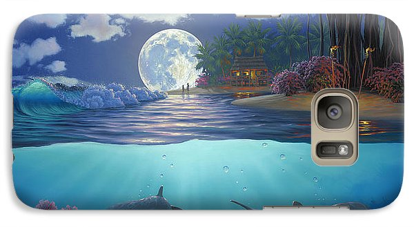 Moonlit Sanctuary Galaxy S7 Case by Al Hogue