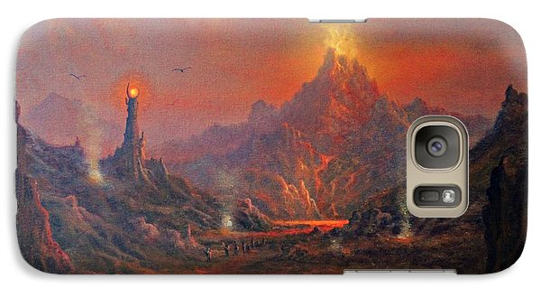 Mordor Land Of Shadow Galaxy S7 Case by Joe Gilronan