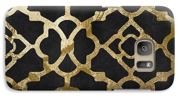 Moroccan Gold IIi Galaxy S7 Case by Mindy Sommers