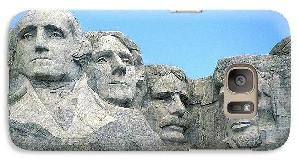Mount Rushmore Galaxy Case by American School