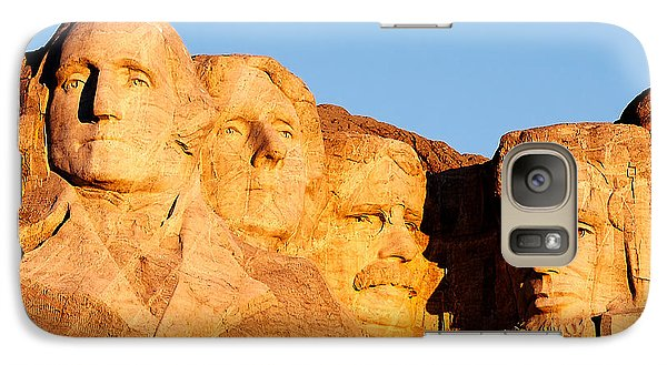 Mount Rushmore Galaxy Case by Todd Klassy