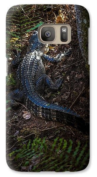Mr Alley Gator Galaxy Case by Marvin Spates