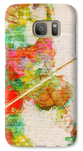 Music In My Soul Galaxy Case by Nikki Smith