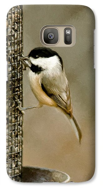 My Favorite Perch Galaxy Case by Lana Trussell