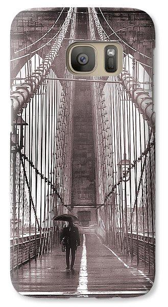Mystery Man Of Brooklyn Galaxy S7 Case by Az Jackson