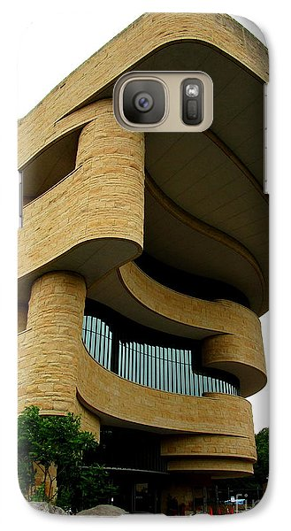 National Museum Of The American Indian 1 Galaxy S7 Case by Randall Weidner