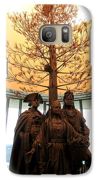 National Museum Of The American Indian 7 Galaxy S7 Case by Randall Weidner