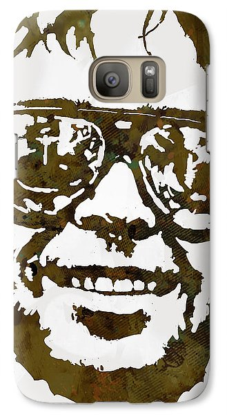 Neil Young Pop  Stylised Art Sketch Poster Galaxy Case by Kim Wang