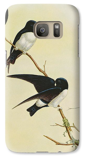 Nepal House Martin Galaxy S7 Case by John Gould