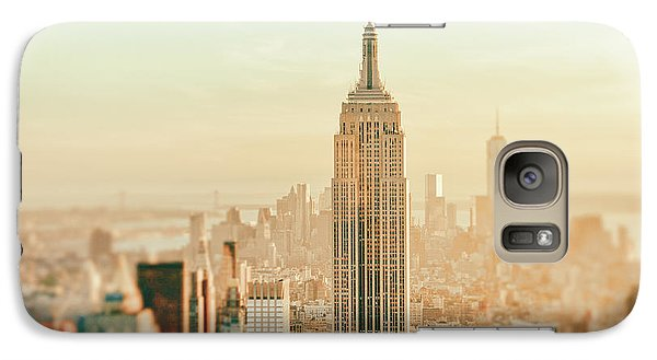 New York City - Skyline Dream Galaxy Case by Vivienne Gucwa