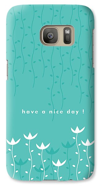 Nice Day Galaxy Case by Kathleen Wong