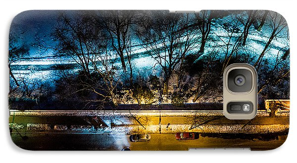 Galaxy Case featuring the photograph Central Park by M G Whittingham