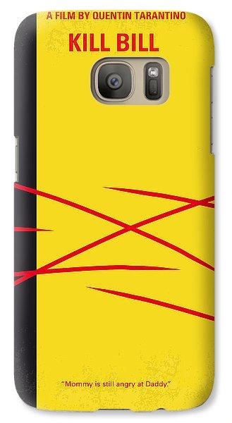 No049 My Kill Bill-part2 Minimal Movie Poster Galaxy S7 Case by Chungkong Art