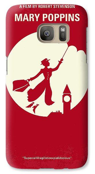 No539 My Mary Poppins Minimal Movie Poster Galaxy S7 Case by Chungkong Art