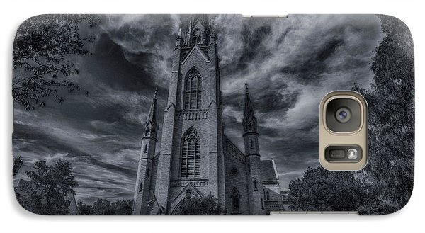 Notre Dame University Church Galaxy S7 Case by David Haskett