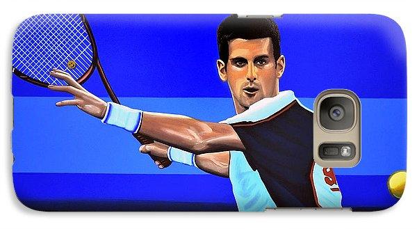 Novak Djokovic Galaxy Case by Paul Meijering