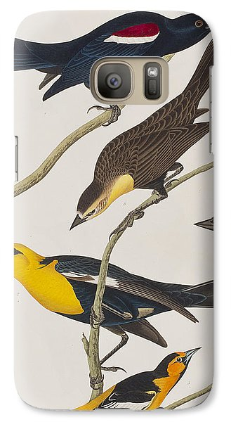 Nuttall's Starling Yellow-headed Troopial Bullock's Oriole Galaxy Case by John James Audubon