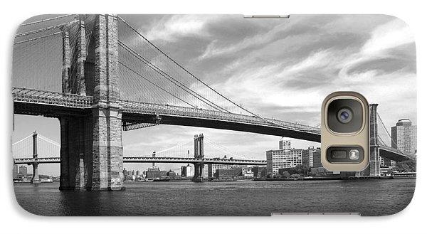 Nyc Brooklyn Bridge Galaxy Case by Mike McGlothlen