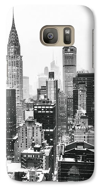 Nyc Snow Galaxy Case by Vivienne Gucwa